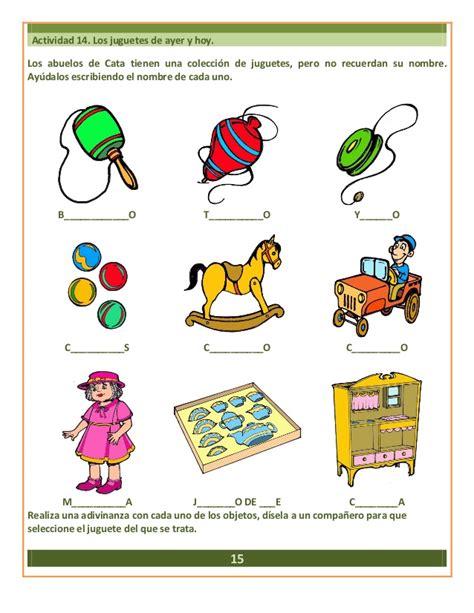 imagenes juguetes en ingles primer grado cuaderno integrador