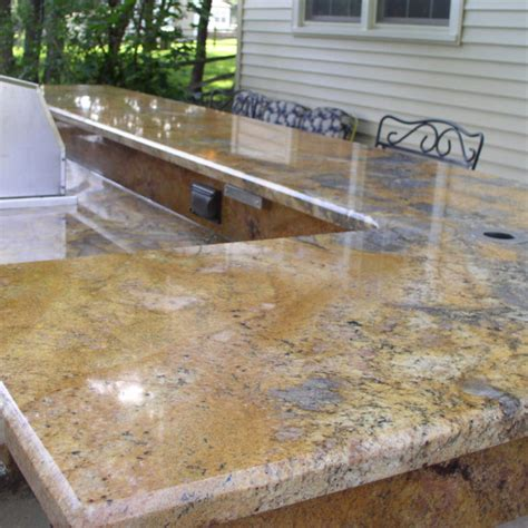 Outdoor Countertop by Outdoor Countertop With Sink And Grill Let S Get Stoned