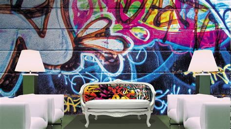 Graffiti Decorating Ideas For A Very Cool Teen Bedroom Graffiti Designs For Bedrooms
