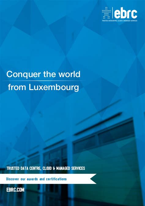 digital fortress series 1 positioning luxembourg as the european digital fortress in