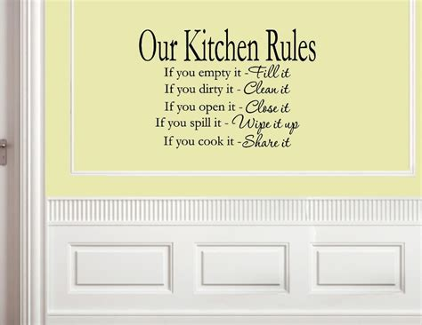 Expressions Home Decor by Kitchen Wall Sayings Promotion Online Shopping For