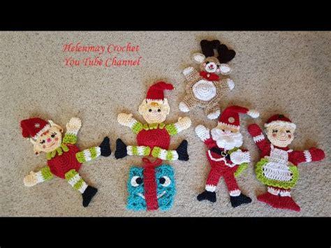 dish towel potholder tutorial youtube crochet christmas hot pad potholders and kitchen towel