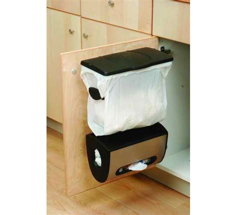 The Simplehuman Cabinet Mount Grocery Bag Can Will Help