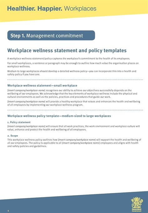 29 Hr Templates Exles Sles Workplace Policy Template