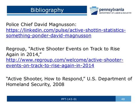 Active Shooter Awareness By Paths