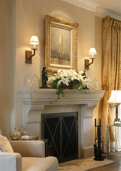 Decorating Ideas For The Fireplace