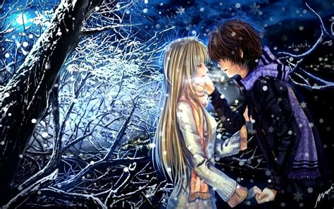 cool wallpaper kisses romantic anime in love hd pictures romantic anime kiss and