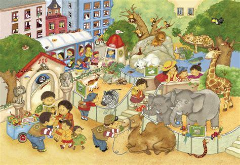 im zoo kinderbuch deutsch englisch illustration kinderbuch marion kr 228 tschmer