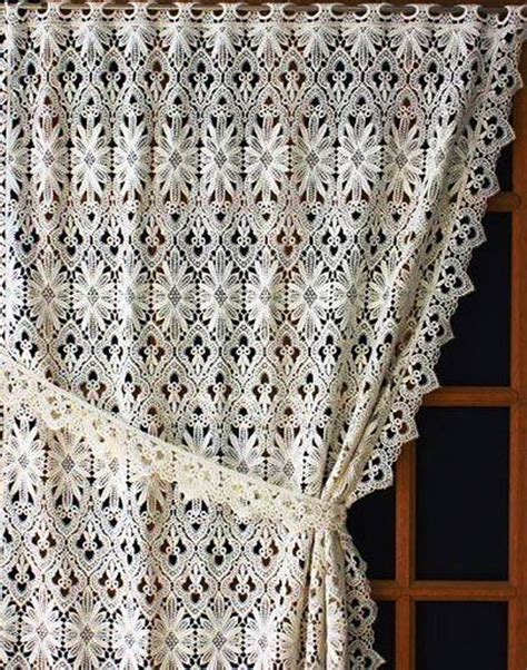 Macrame Lace Curtains 21 Best Macrame Lace Images On Lace Curtains Blinds And Window Coverings