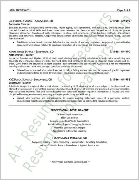 sle cover letter resume english teacher cover letter