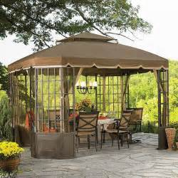 Sears Gazebo Canopy by Garden Oasis L Gz120pst 2s Pk Replacment Canopy For