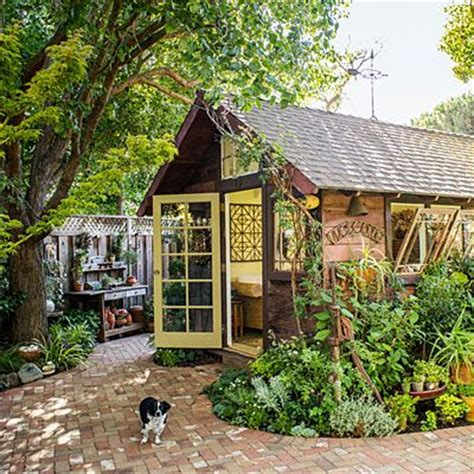 Garden Retreat Shed by Garden Shed Becomes A Backyard Retreat