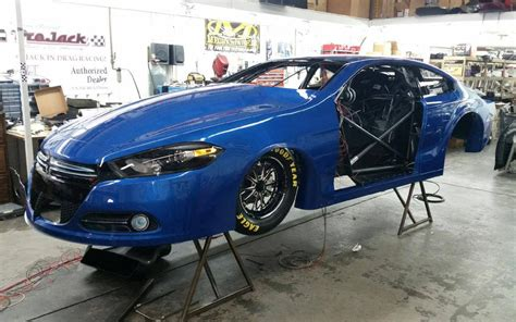 pro stock dodge dart pro stock driver alan prusiensky debuts his new dodge dart