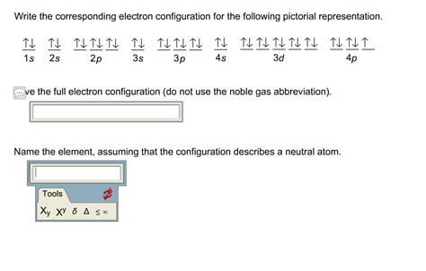 tutorial questions on electron configuration chemistry archive march 06 2016 chegg com