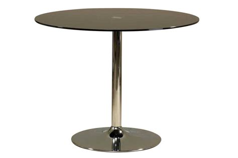 make a special atmosphere with black glass dining table