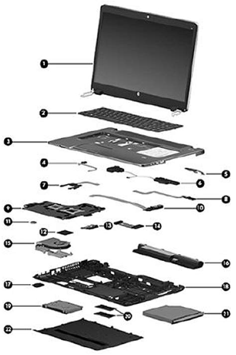 HP ProBook 470 G0 Notebook PC - Spare Parts | HP® Customer
