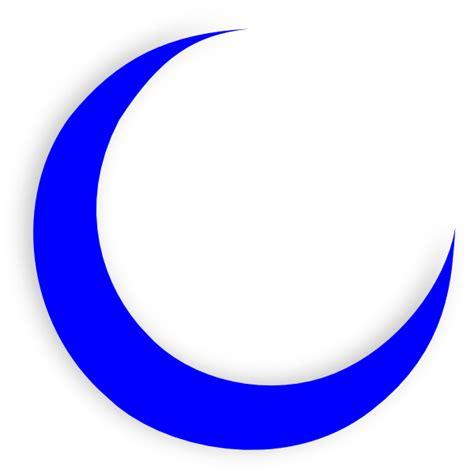 crescent moon clipart blue moon crescent clip at clker vector clip