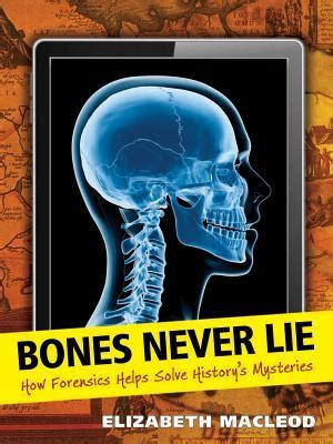the animals never lie books mrs readerpants review bones never lie how forensics