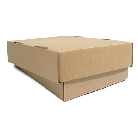 Paper Boxes With Lids - brown telescopic boxes davpack