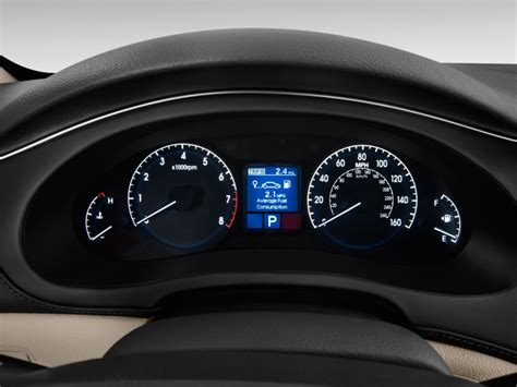 how make cars 2012 hyundai genesis instrument cluster image 2013 hyundai genesis 4 door sedan v6 3 8l instrument cluster size 1024 x 768 type gif