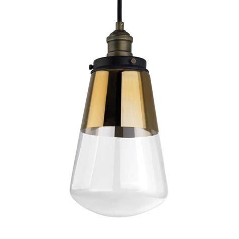 brass mini pendant light feiss waveform 1 light painted aged brass dark weathered