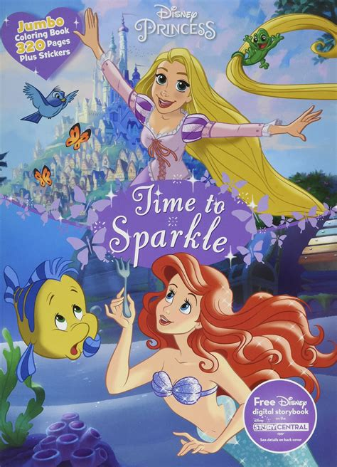 disney coloring books disney princess coloring book with stickers coloring page