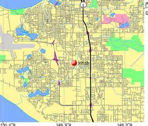 Anchorage Zip Code Map by 99518 Zip Code Anchorage Alaska Profile Homes