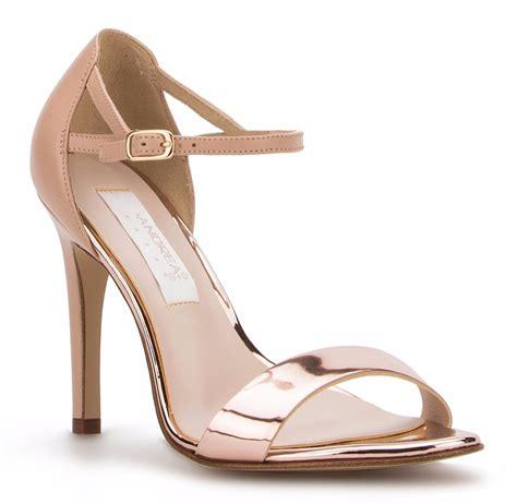 imagenes de zapatillas rojas andrea elegantes zapatillas sandalias andrea oro rosa tac 243 n