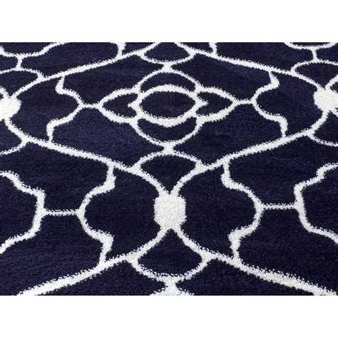 navy blue rug rug and decor inc summit elite navy blue area rug reviews wayfair
