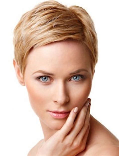 short hairstyles for fine hair pictures good short haircuts for fine hair round face 2014 pouted