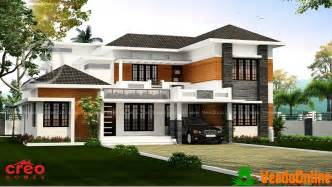 kerala home design january 2016 2809 sq ft contemporary double floor home design veeduonline