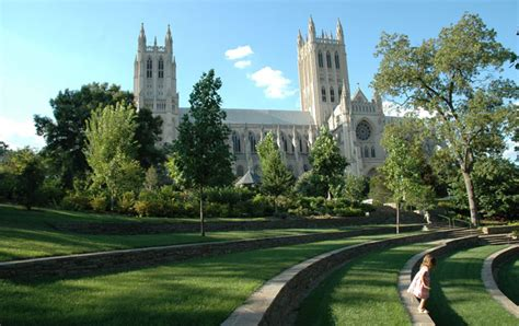 national cathedral  landscape architects guide