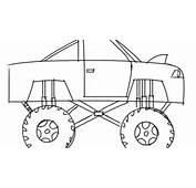 Learn How To Draw A Monster Truck For Kids Step By