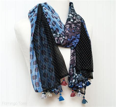 Patchwork Scarf - simple diy patchwork scarf