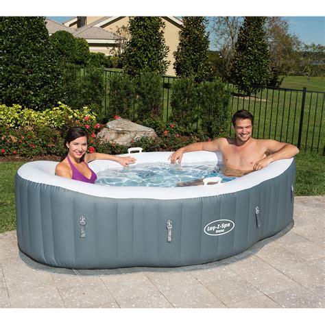 2 person bathtub spa lay z spa siena airjet inflatable hot tub spa 1 2 person