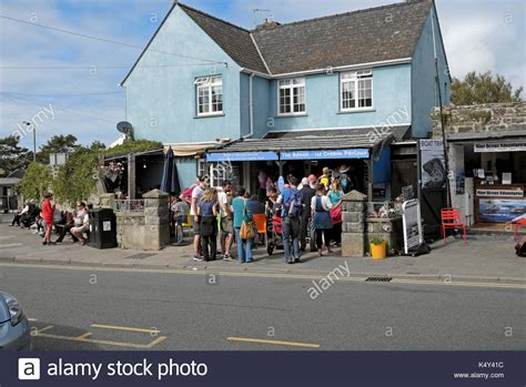 the bench st davids ice cream shop in st stock photos ice cream shop in st