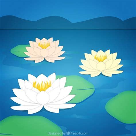 fiore di loto magic fiori di loto sfondo scaricare vettori gratis