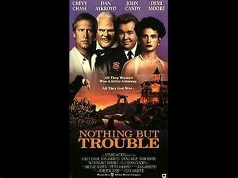 watch online nothing but trouble 1991 full movie official trailer opening to nothing but trouble 1991 vhs youtube