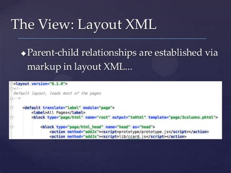 magento how are layout xml directives processed finding your way understanding magento code
