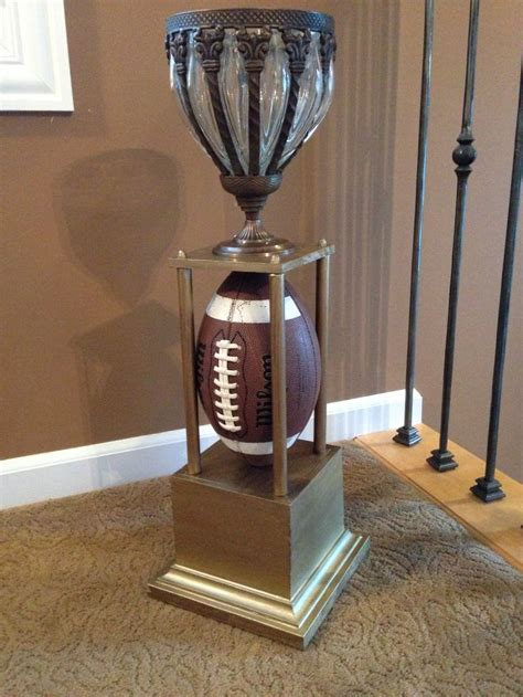 15 best images about football trophy diy on