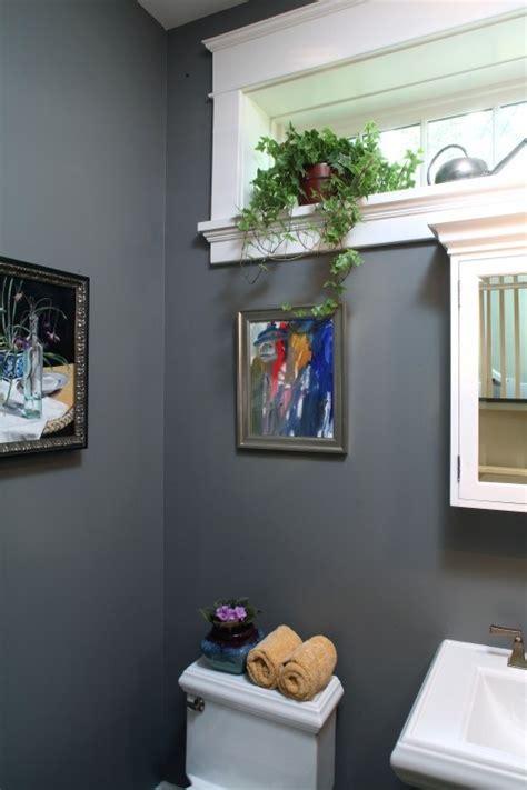 Bathroom Molding Colors Molding Around Window Powder Room Moldings