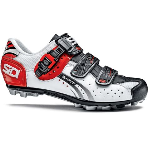 sidi dominator 5 mountain bike shoes sidi s dominator fit mtb shoes white black 44