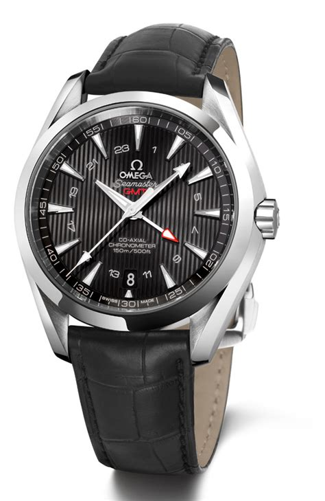 omega unveils seamaster aqua terra gmt watches channel