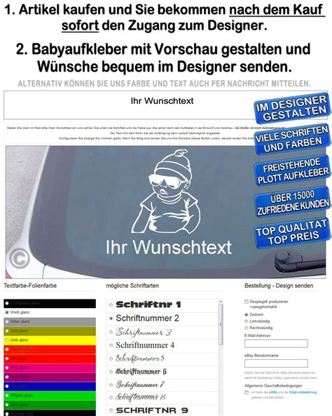 Autoaufkleber Baby Hangover by Baby On Board Auto Aufkleber Sticker Wunschname Hangover