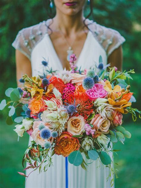 Tropical Wedding Flowers by Top 5 Tropical Wedding Bouquets Mon Cheri Bridals