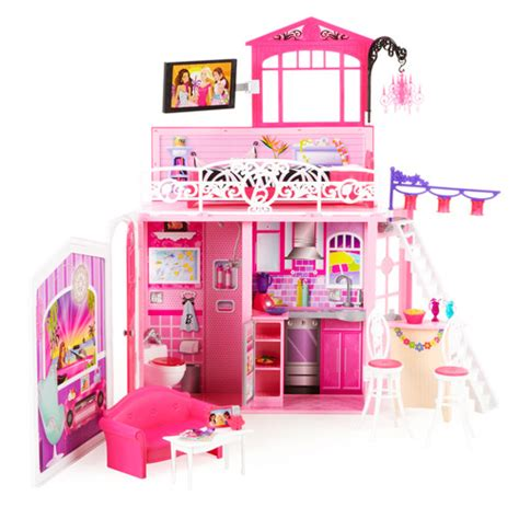 walmart barbie house barbie doll houses at walmart