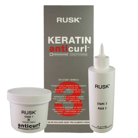 rusk for curly hair rusk anticurl 3 resistant formula