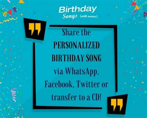 103 best customised birthday songs with names images on