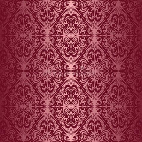 behang bordeaux elegant bordeaux naadloos behang vector illustratie