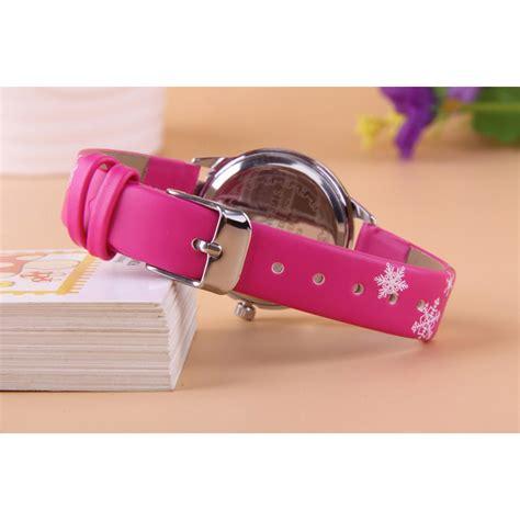 Jam Tangan Frozen Anak jam tangan anak perempuan princess elsa frozen
